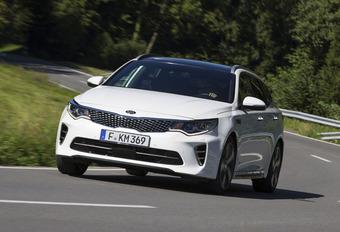 Kia Optima GT : Een versnelling hoger #1