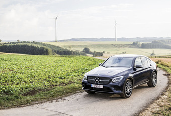 Mercedes GLC 220d Coupé : De BMW X4 van Mercedes #1