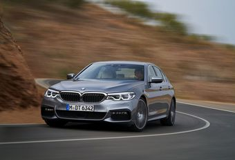 BMW 5-Reeks: Met nadrukkelijke assistentie #1