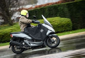 Honda PCX : essai hivernal #1