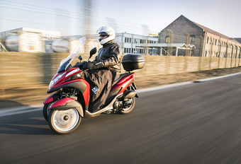Yamaha Tricity 125 'Winterkit' : Uitrusting is alles #1