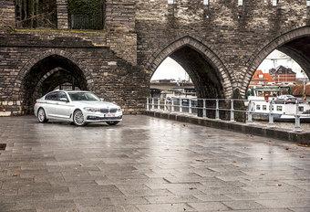 BMW 520d xDRIVE : Overgangsfiguur #1