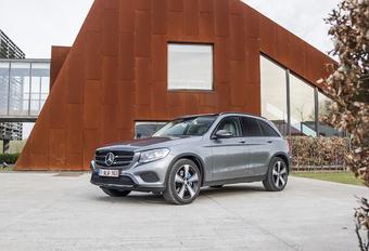 Mercedes GLC 350 e : électrique à mi-temps #1