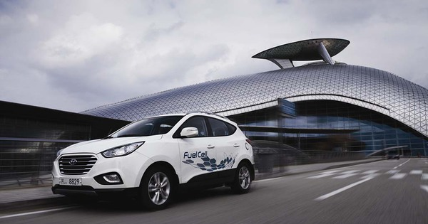 Nieuw Model Hyundai Ix35 Op Waterstof Te Koop In Belgi 235