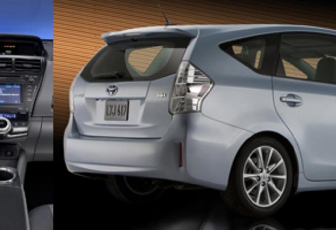 Toyota Verso Nieuw Model >> Nieuw model ALS HATCH EN MONOVOLUME: Toyota Prius - AutoWereld