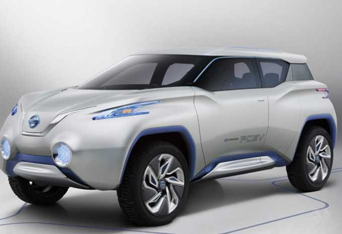 VREEMDE SNUIT(ER): Nissan TeRRa SUV Concept #1