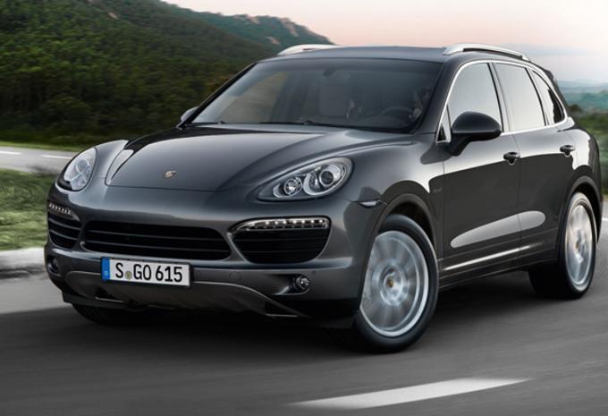 MET (VEEL) EXTRA PEPER: Porsche Cayenne Diesel S #1