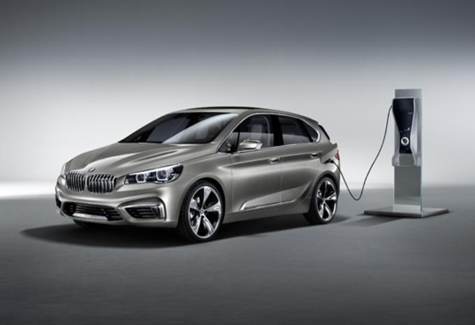 MET VOORWIELAANDRIJVING: BMW Active Tourer #1