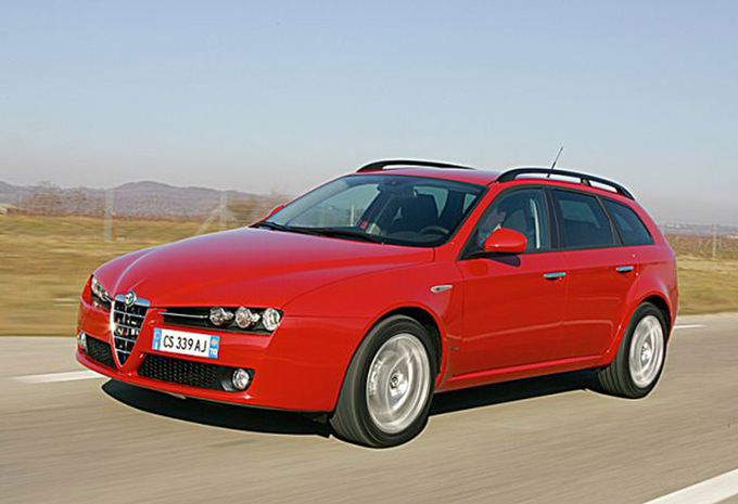 prijs alfa romeo 159 sportwagon 2 4 jtdm 210 q4 ti 2006 autogids. Black Bedroom Furniture Sets. Home Design Ideas