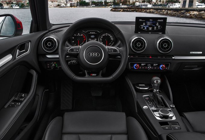audi a3 sportback 2 0 tdi 110kw 2017 prix moniteur automobile. Black Bedroom Furniture Sets. Home Design Ideas