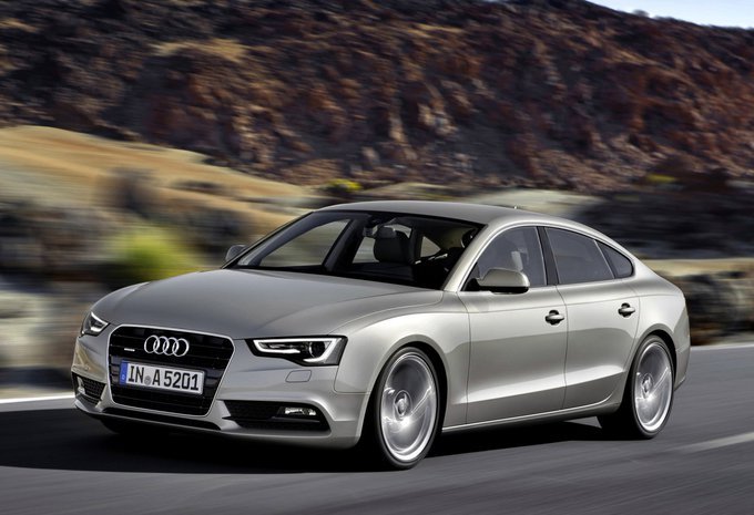 audi a5 sportback 2 0 tdi 110kw 2017 prix moniteur automobile. Black Bedroom Furniture Sets. Home Design Ideas