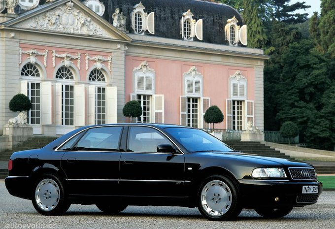 audi a8 s8 quattro 1994 prix moniteur automobile. Black Bedroom Furniture Sets. Home Design Ideas