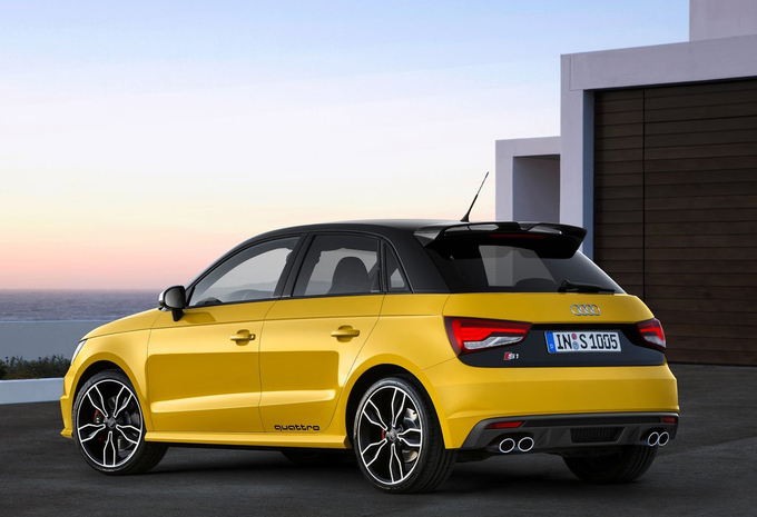 audi s1 sportback 2 0 tfsi 170kw 2016 prix moniteur automobile. Black Bedroom Furniture Sets. Home Design Ideas