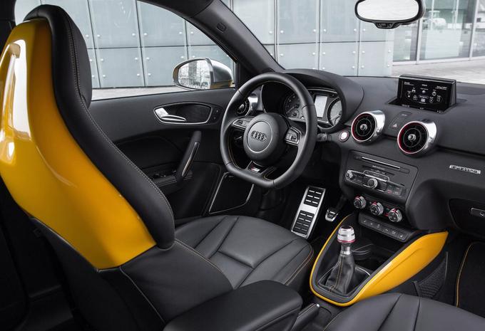 audi s1 sportback 2 0 tfsi 170kw 2016 prix moniteur automobile. Black Bedroom Furniture Sets. Home Design Ideas