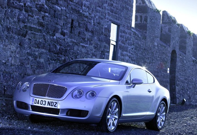 bentley continental gt continental gt 2003 prix moniteur automobile. Black Bedroom Furniture Sets. Home Design Ideas