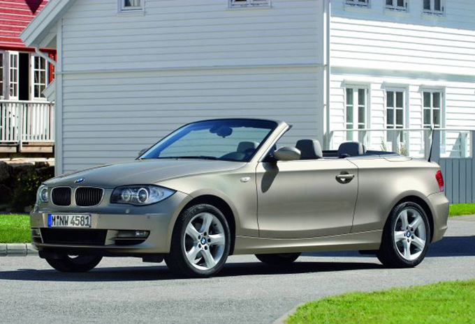 prijs bmw 1 reeks cabriolet 118d 143 2008 autogids. Black Bedroom Furniture Sets. Home Design Ideas