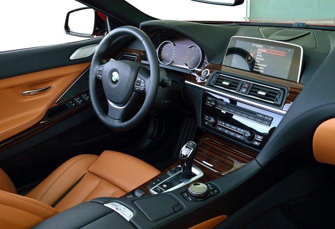 BMW Série 6 Cabrio M6 (412kW) (2017) prix - Moniteur Automobile
