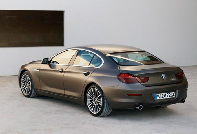 bmw s rie 6 gran coup 640d 2012 prix moniteur automobile. Black Bedroom Furniture Sets. Home Design Ideas