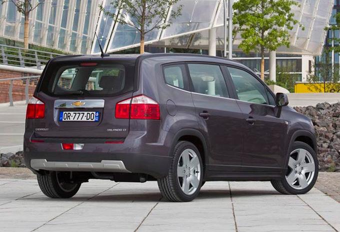 Prijs Chevrolet Orlando 1.8 LS (2010) - AutoGids