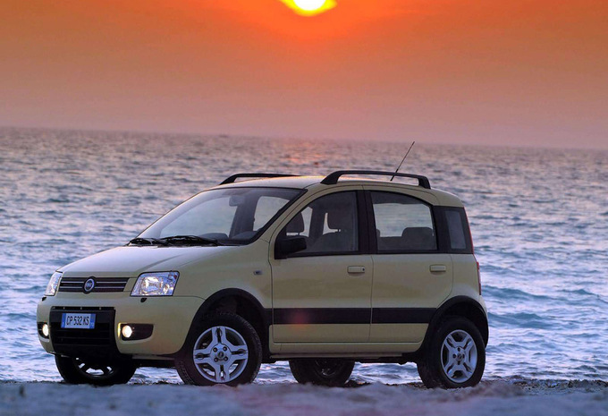 fiat panda cross 1 2 climbing 4x4 2003 prix moniteur. Black Bedroom Furniture Sets. Home Design Ideas