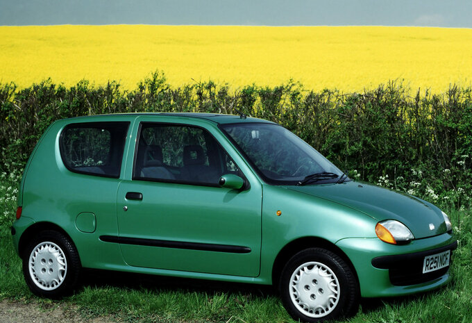 fiat seicento abarth 1998 prix moniteur automobile. Black Bedroom Furniture Sets. Home Design Ideas