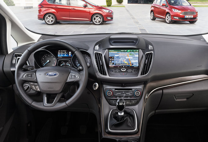 Ford grand c max 1 5 tdci 88kw s s business class 2017 prix moniteur automobile
