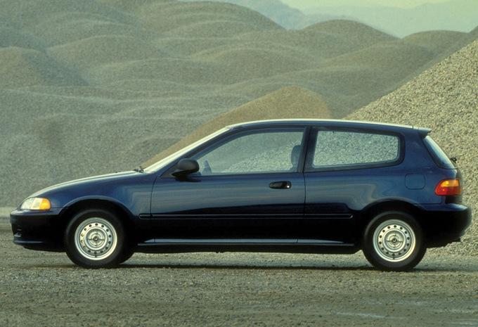 honda civic 3p vtec 1992 prix moniteur automobile. Black Bedroom Furniture Sets. Home Design Ideas