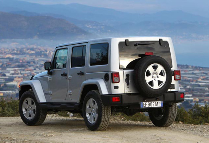 jeep wrangler 4p 2 8 crd rubicon 2007 prix moniteur automobile. Black Bedroom Furniture Sets. Home Design Ideas