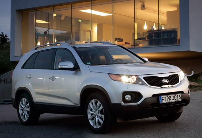 kia sorento 2 0 crdi 2wd ex 2009 prix moniteur automobile. Black Bedroom Furniture Sets. Home Design Ideas