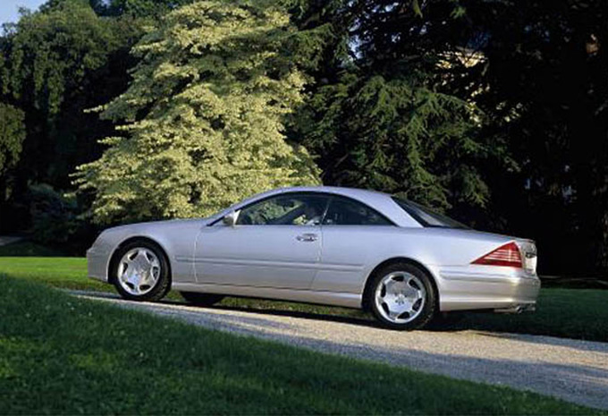 mercedes benz classe cl cl 55 kompressor amg 1999 prix moniteur automobile. Black Bedroom Furniture Sets. Home Design Ideas