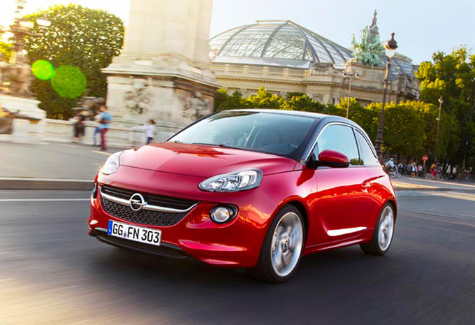 prijs opel adam 1 2 glam 2012 autogids. Black Bedroom Furniture Sets. Home Design Ideas