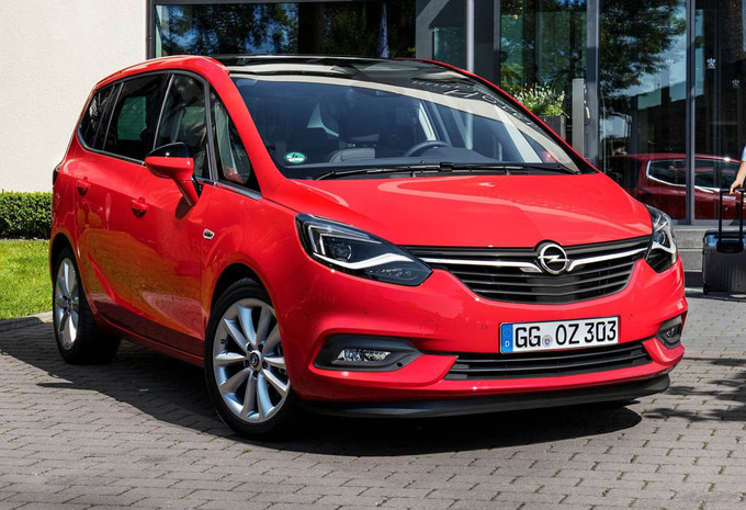 prijs opel zafira 1 6 turbo cng ecoflex edition 2017. Black Bedroom Furniture Sets. Home Design Ideas