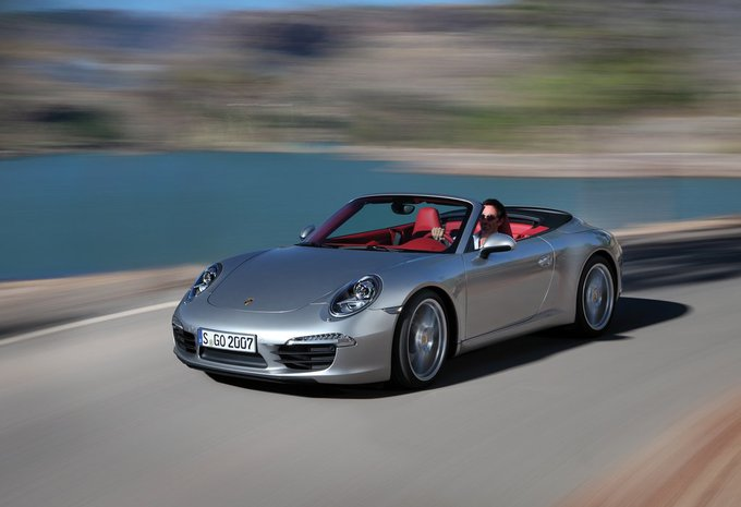 prijs porsche 911 cabrio carrera cabrio 2018 autowereld. Black Bedroom Furniture Sets. Home Design Ideas