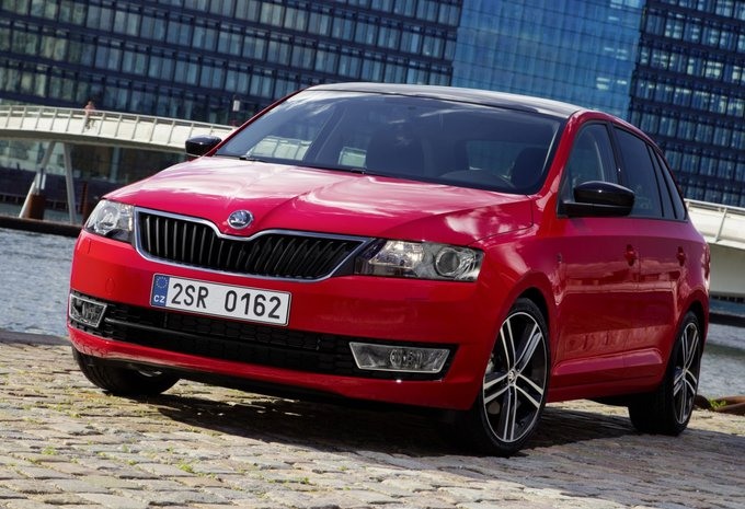 skoda rapid spaceback 1 4 crtdi 66kw ambition 2017 prix moniteur automobile. Black Bedroom Furniture Sets. Home Design Ideas