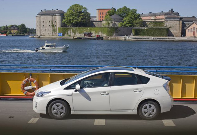 toyota prius 1 8 vvt i hybrid sol 2009 prix moniteur automobile. Black Bedroom Furniture Sets. Home Design Ideas