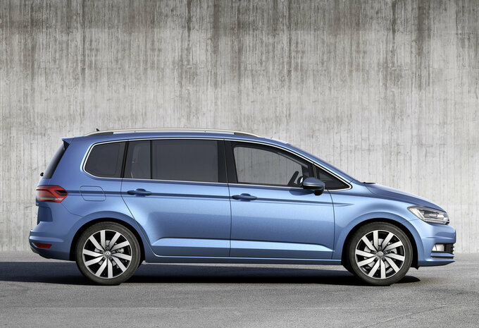 volkswagen touran 1 4 tsi 110kw dsg 7 bmt trendline 2017 prix moniteur automobile. Black Bedroom Furniture Sets. Home Design Ideas