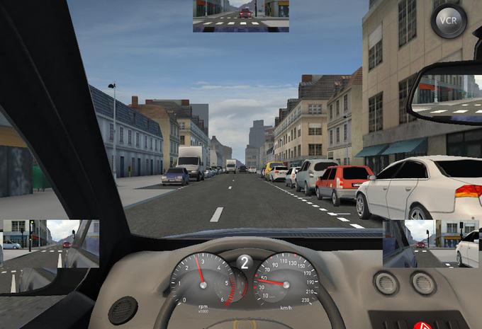 simulateur de conduite racb moniteur automobile. Black Bedroom Furniture Sets. Home Design Ideas