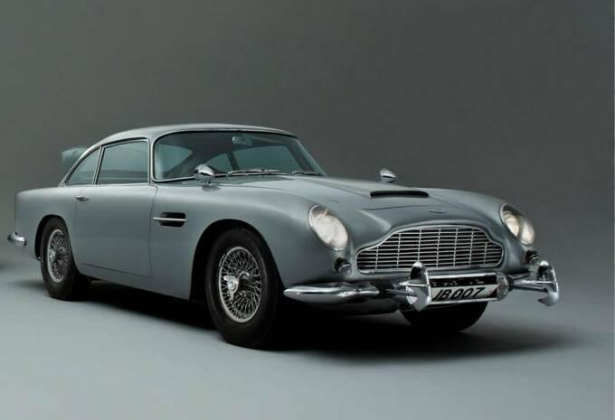aston martin james bond db5 moniteur automobile. Black Bedroom Furniture Sets. Home Design Ideas