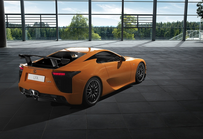 nouveau mod le lexus lfa n rburgring package en live moniteur automobile. Black Bedroom Furniture Sets. Home Design Ideas