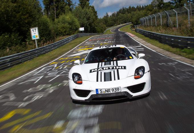 """Porsche 918 Spyder doet de Nürburgring in 7'14"""" #1"""