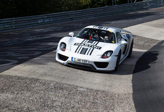 """Porsche 918 Spyder doet de Nürburgring in 7'14"""" #2"""