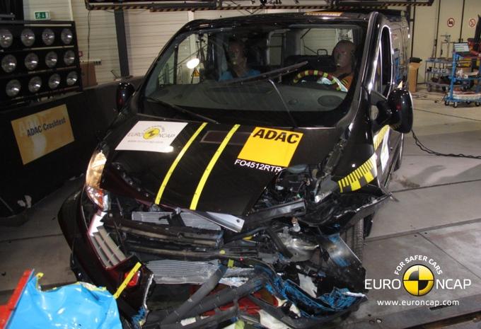 EuroNCAP teste les vans #4