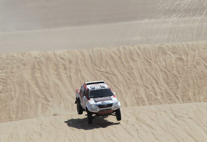 Dakar 2013 du Team Overdrive #1