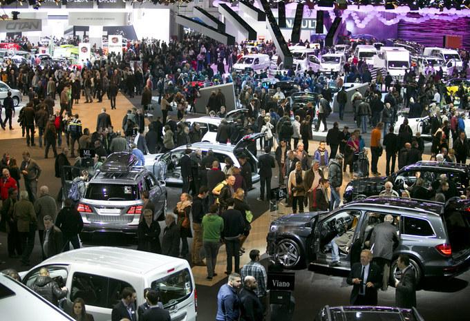 Autosalon lokte 380.000 bezoekers #1