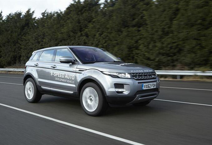 Land Rover teste une boîte auto à 9 rapports #1