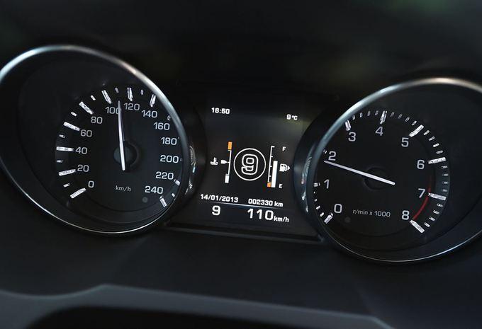 Land Rover teste une boîte auto à 9 rapports #2