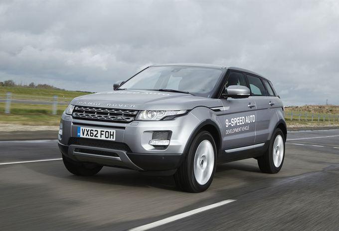 Land Rover teste une boîte auto à 9 rapports #3
