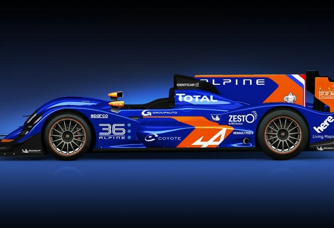 L'Alpine des 24 H du Mans #1