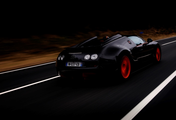 Bugatti Veyron 16.4 Grand Sport Vitesse World Record Car #3