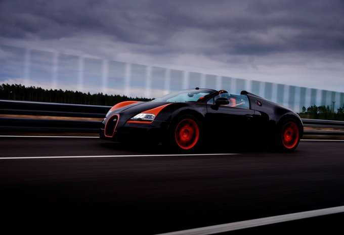 Bugatti Veyron 16.4 Grand Sport Vitesse World Record Car #4